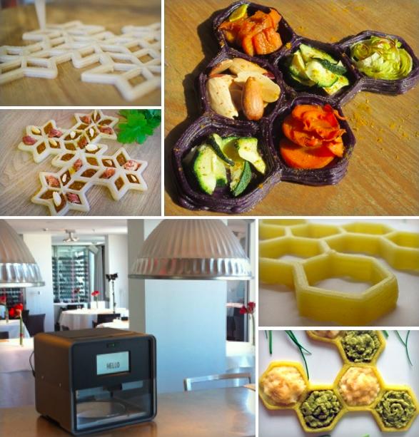 3d voedselprinter foodini ligt in januari 2015 in de winkel for 3d cuisine